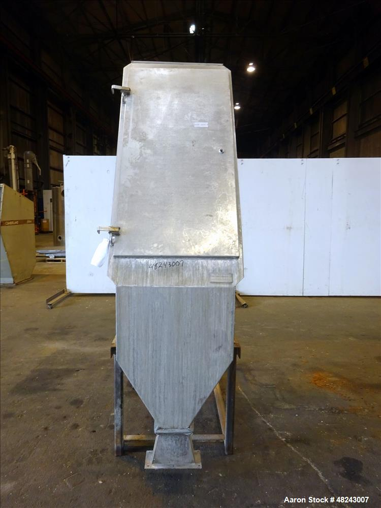 Used- Team Metal Fabricators Sieve-Bend DSM Screening Unit, 304 Stainless Steel.