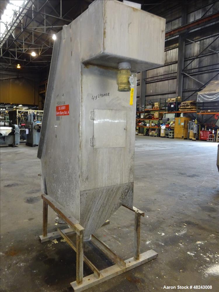 Used- Team Metal Fabricators Sieve-Bend DSM Screening Unit, 304 Stainless Steel.