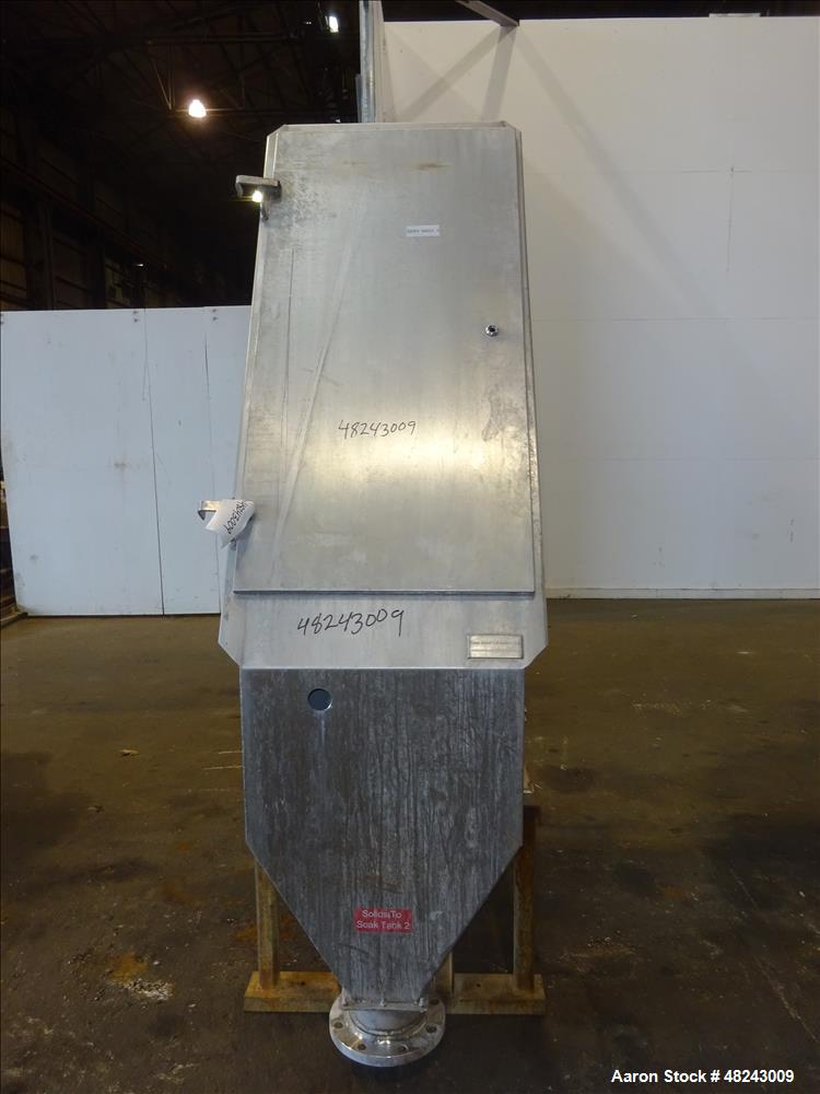 Team Metal Fabricators Sieve-Bend DSM Screening Unit, 304 Stainless Steel