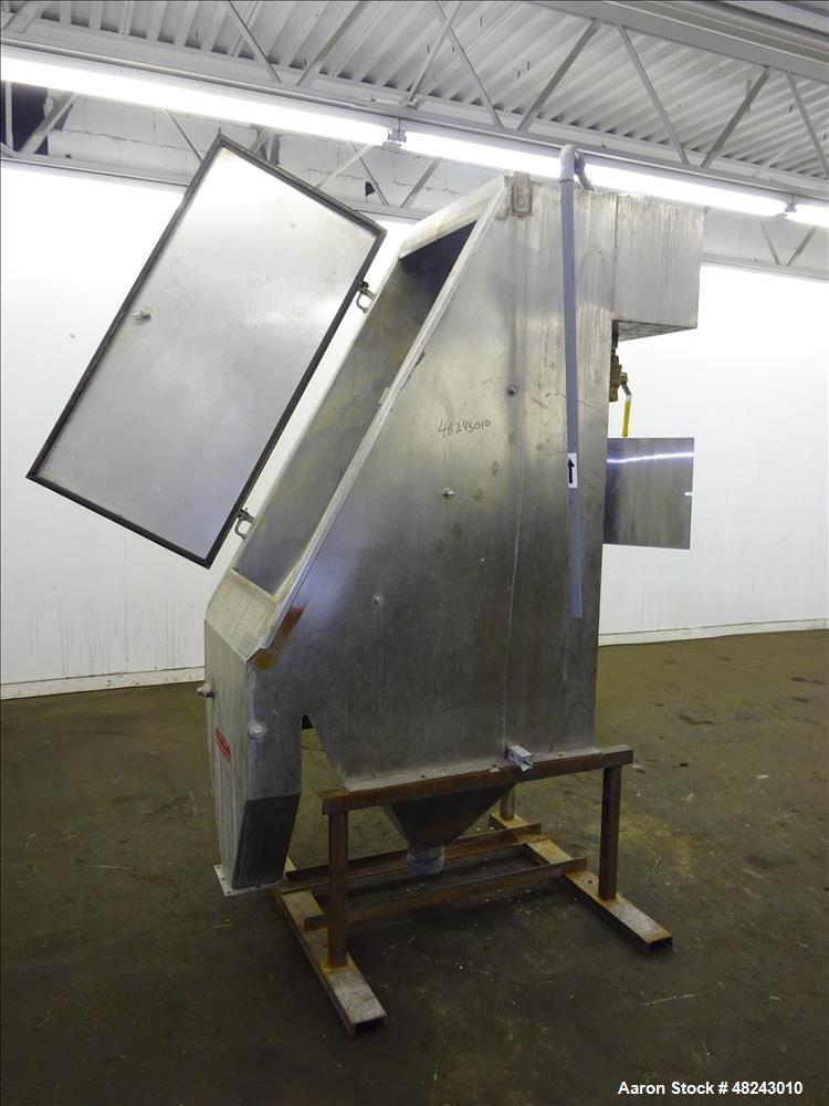 Used- Team Metal Fabricators Sieve-Bend DSM Screening Unit, 304 Stainless Steel
