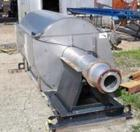 Used-Hycor Rotary Drum Thickener, model HRS 3672M. 304 Stainless steel, screen opening size .020