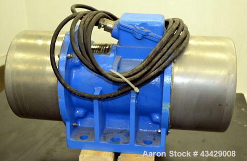 Used- Key Technology Vibrator Motor, Model CXZ 350-8