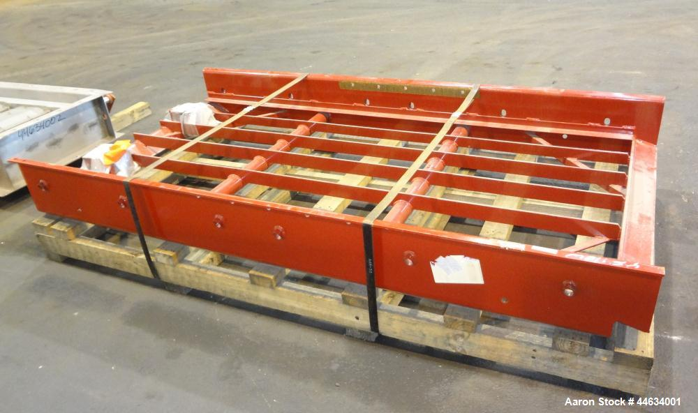 """Unused- Linkbelt Vibratory Screen Box Assembly, Carbon Steel.  Approximately 50"""" wide x 96"""" long."""