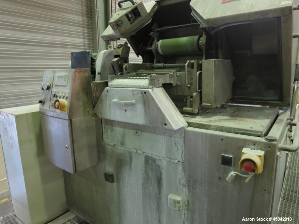 "Used-Witte Sifter, Stainless Steel, 1 Deck 39"" x 58.5"" (1000 mm x 1500 mm), Incl. Metal Detector."