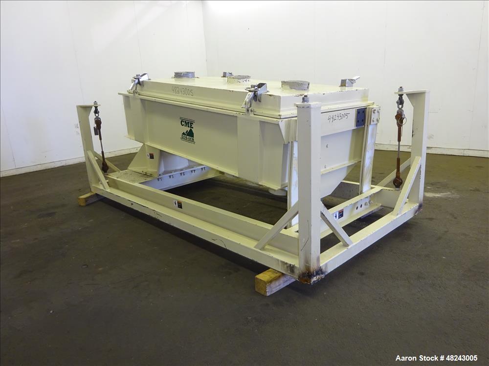 Used- CME Colorado Mill Equipment Triple Deck Pellet Screener, Model SCR 4056TD,