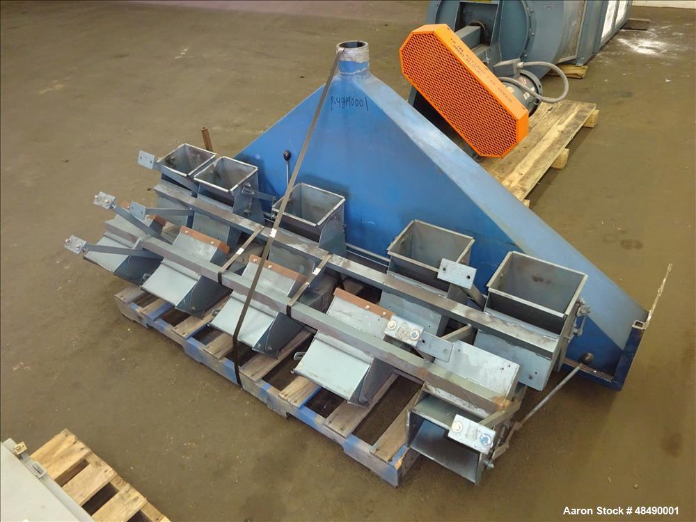 Used- Forsberg Vacuum Gravity Separator, Model 50-VMS.