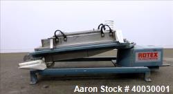 Used- Rotex Screener, Model 111PS-SSSL