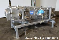 Used- Sweco Wet Rectangular Separator, Model EM3-1W, 316 Stainless Steel