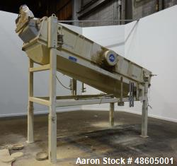 Used- Sweco Rectangular Separator / Screener, Model RM4-1A, Carbon Steel.