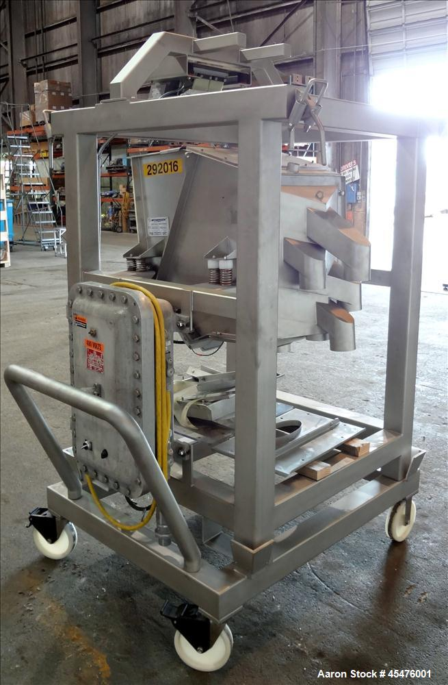 Used- Stainless Steel Mogensen Sizer Screener, Model SPS 0554