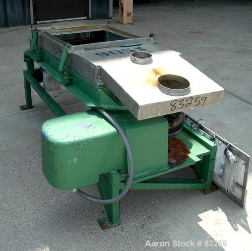 Used- Stainless Steel Rectangular Screener
