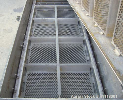 "Used- Rotex Screener, Model 242-SAN.AL.SS, 304 Stainless Steel, Aluminum Screens. 24 1/2"" wide x 66 1/2"" long double deck, 3..."
