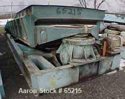 """USED: Rotex chip screener, model 72. Carbon steel, single deck, 80"""" wide x 180"""" long nominal screen surface, driven by 10 hp..."""