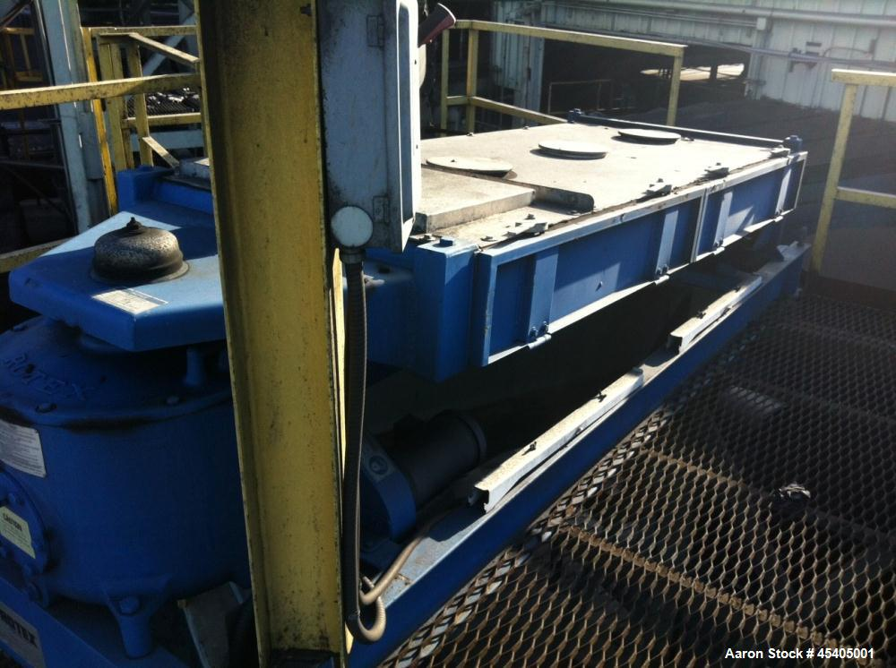Used- Carbon Steel Rotex Dry Separation Screener, Model A3S24L-1M