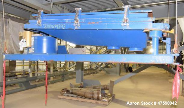 Unused- Rotex Screener, Model R3221A MMMM, Carbon Steel.