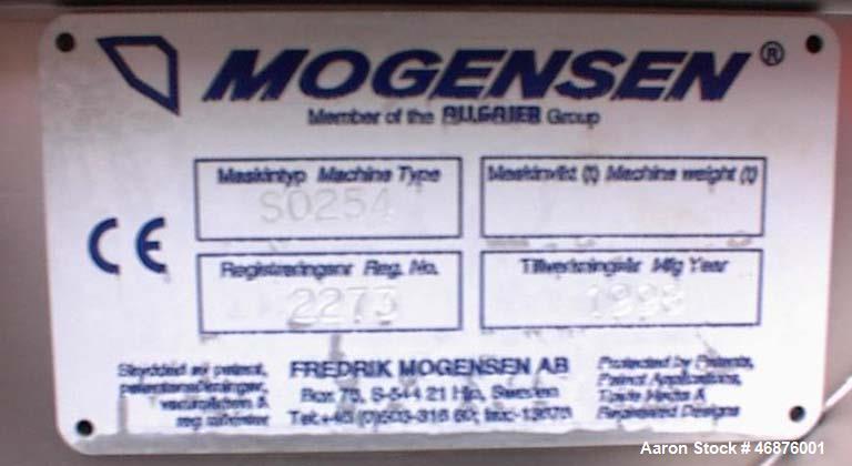 Used- Morgensen Flow Through Screener / Sizer