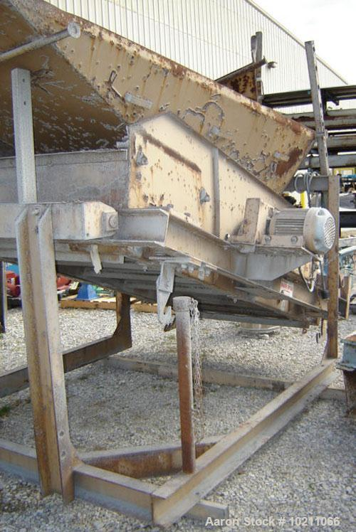"Used-48"" X 96"" Simplicity type 2 Deck  Screener sold by Murrysville Machinery Company, Irwin, PA. Unit is open top two deck ..."