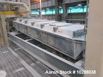 "Used- Carbon Steel Sprout Bauer 3 deck screener 36"" x 120"""
