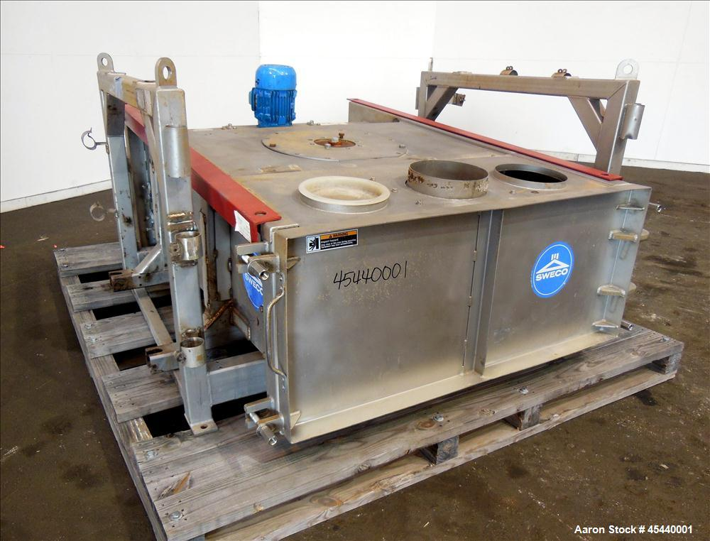 Used- Stainless Steel Sweco GyraMax Gyratory Sifter, Model GL-4X5S5