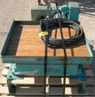 USED: Gaynes Engineering shaker table, model V100, carbon steel. 24
