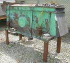 Used- Prater Screener, Model VS1-15-2E, Carbon Steel. Approximately 15