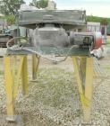 Used: Rotex screener, model 221, carbon steel. 40