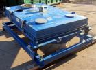 Used- Rotex Screener, Model 3421GC MWMM, Carbon Steel. Approximately 60