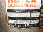 Used- Rotex Sanitary Screener, Model 431 SAN/AL/SS, Stainless Steel. 40