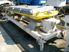 Used: Rotex screener, model 431SAN-SS-SS, stainless steel. 40