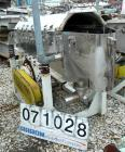USED:Simplicity horizontal vibratory screener/scalper, model 2185-HSJA2, 316 stainless steel. Double deck 18
