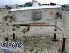 USED: Smico screener, carbon steel, single deck, 2 separation, 36