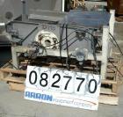 Used- Sweco Full Flow Rectangular Separator, Model EM2-1A, Stainless Steel.