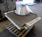 Used- Witte Vibrating Air-Cooler Classifier System Consisting Of: (1) Witte Screener model 436-D, 36