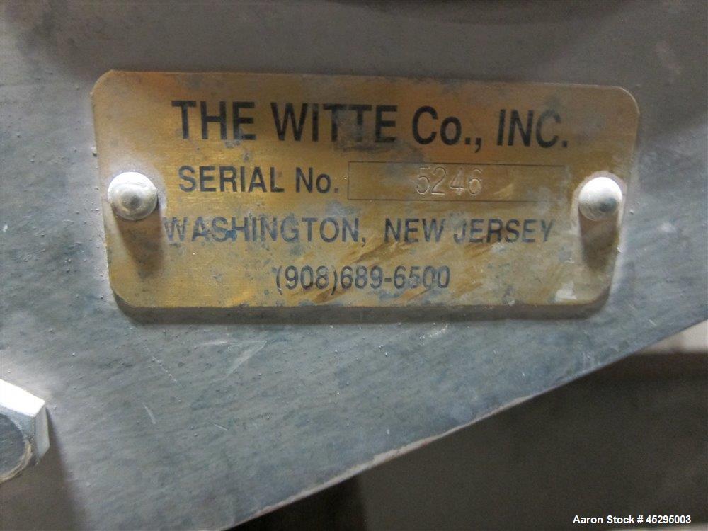 Used-Witte Screener, 22'' wide x 76'' long  SN 5246