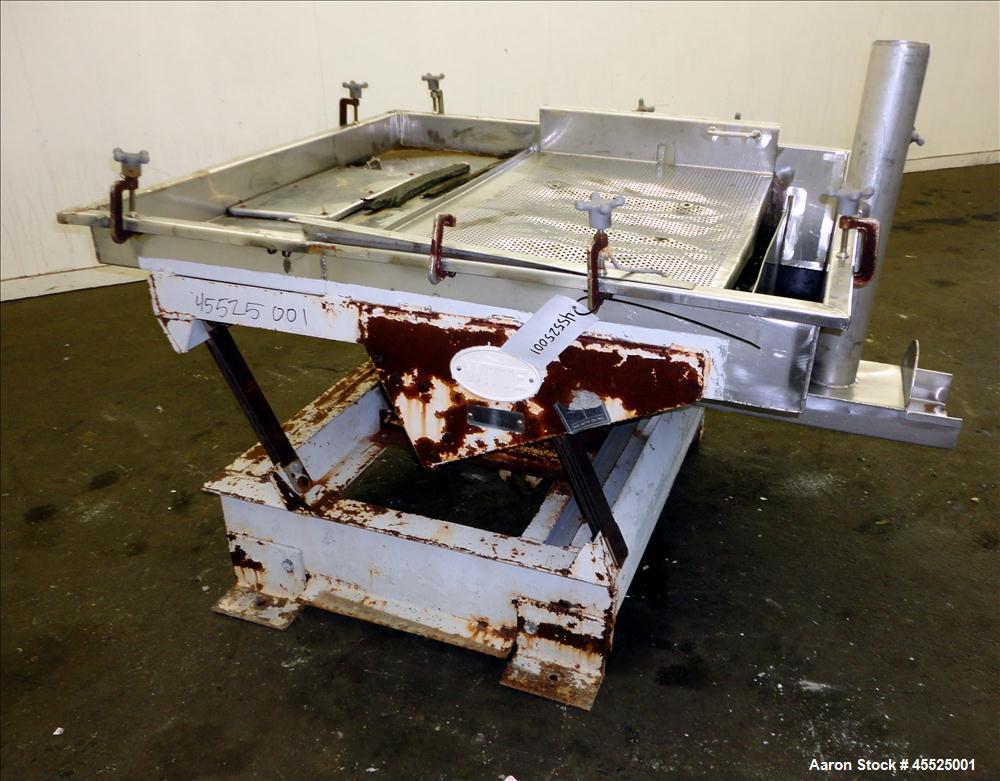 Used- Stainless Steel Witte Screener