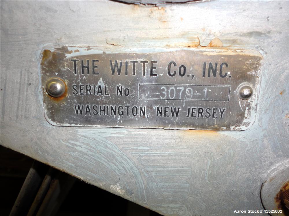 Used- Witte Screener, 304 Stainless Steel