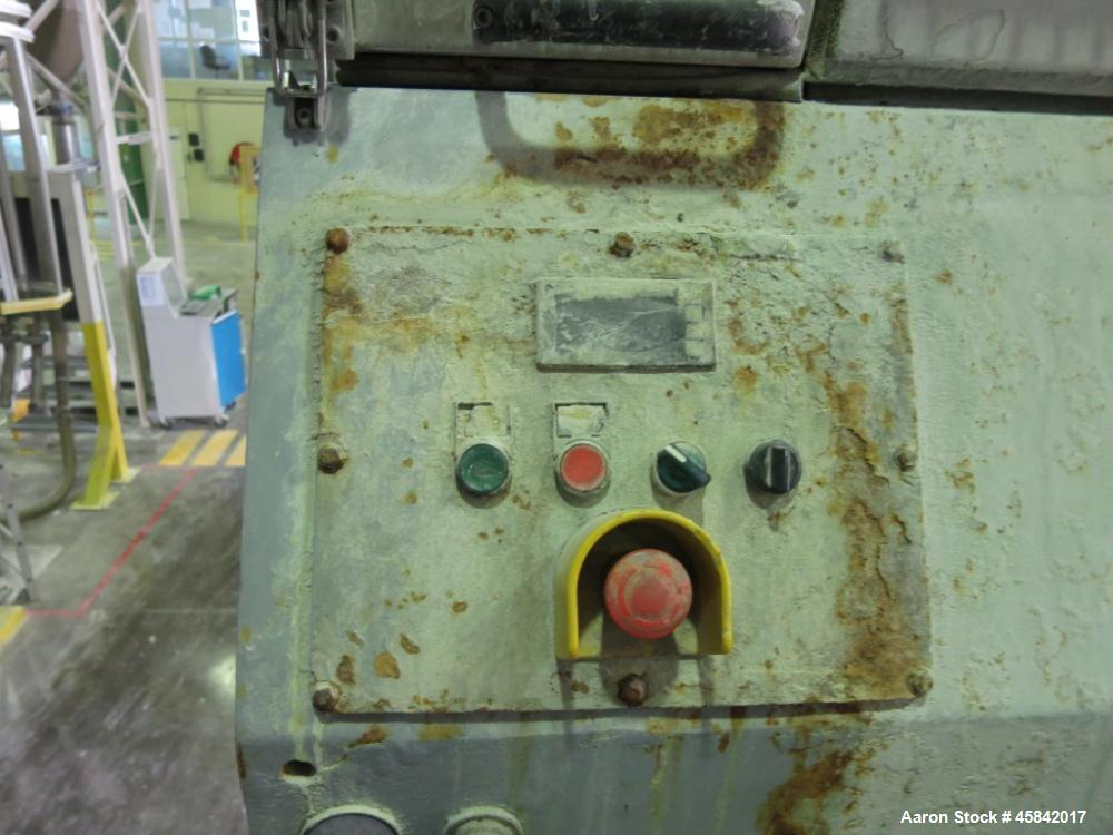 """Used-Witte Sifter, Stainless Steel, 1 Deck 39"""" x 58.5"""" (1000 mm x 1500 mm), Incl. Metal Detector."""