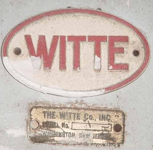 """USED: Witte screen, 304 stainless steel. 42"""" wide x 51"""" long x 6-1/2"""" deep. Top opening 12"""" x 6"""" oval, 2 separations, no scr..."""