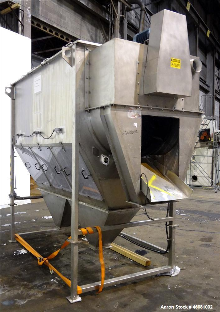 Used- Product Saver Rotary Sifter, Model 996, 304 Stainless Steel.