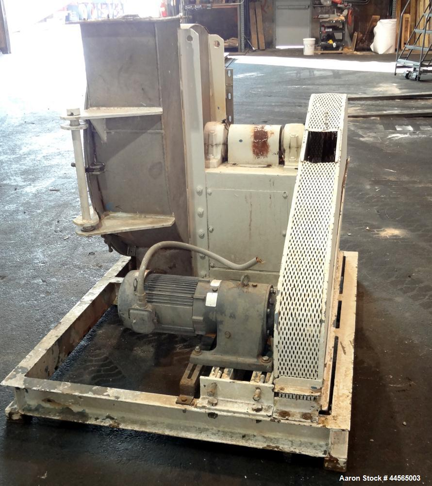 Used- Stainless Steel Barr & Murphy Rotary Impeller Cascade Screener, Model C-10