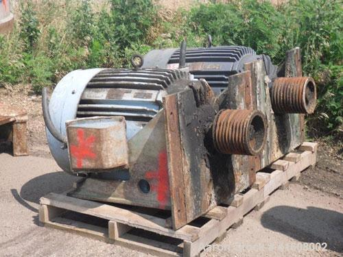 Used-Bird Centriscreen, model 18, 316 stainless steel. Approximately 75 hp motor, belt driven