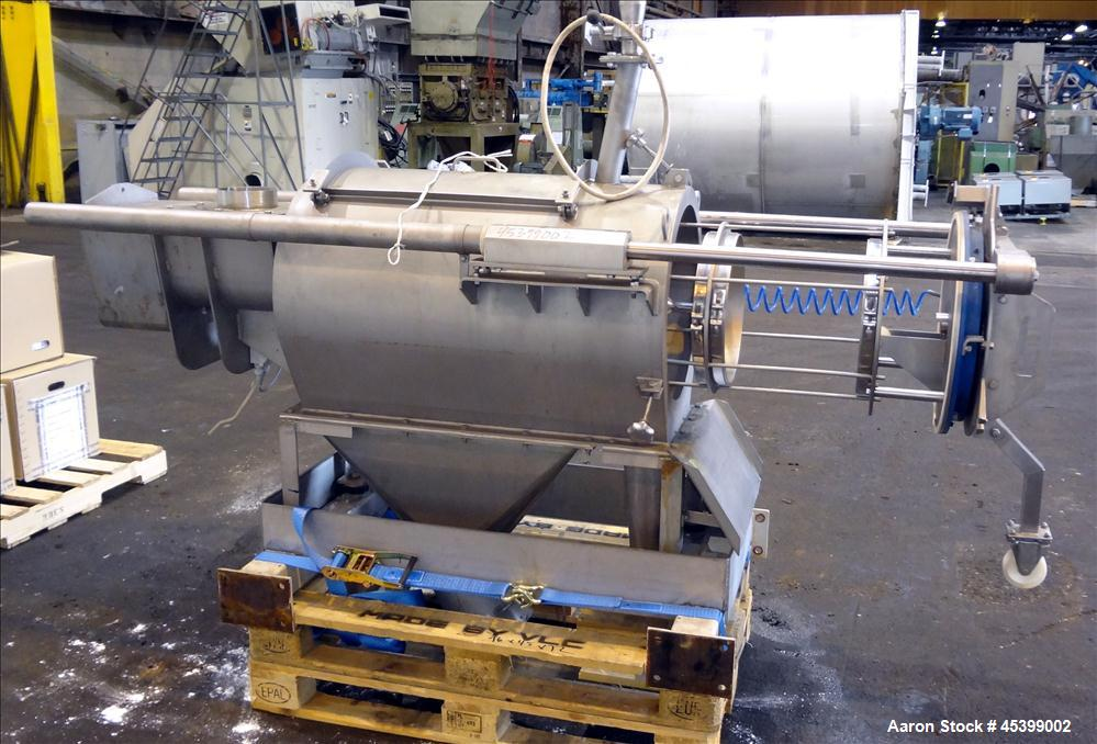 Used- Stainless Steel Dinnissen Rotary Sifter, Model 322-365-800