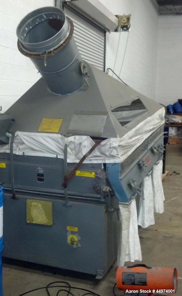 Used-Forsberg Vacuum Gravity Separator, Model 50 VM