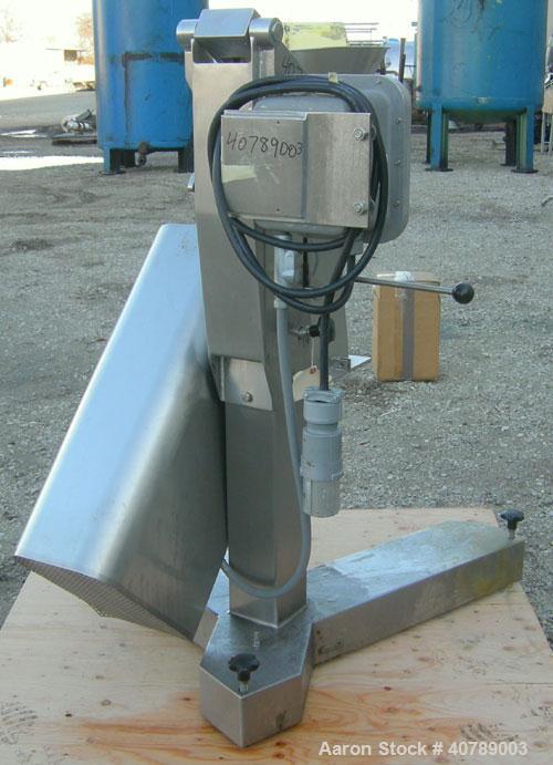 Used- Frewitt Turbosieve Sifter, Type SGV-004