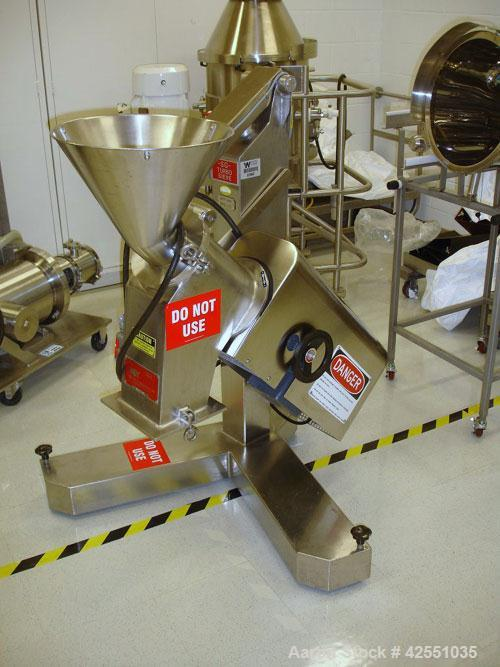 Used- Frewitt Turbon Sieve, Model SGV004, stainless steel. 440 Volt pedestal mounted, less screens and beater, serial #08875...