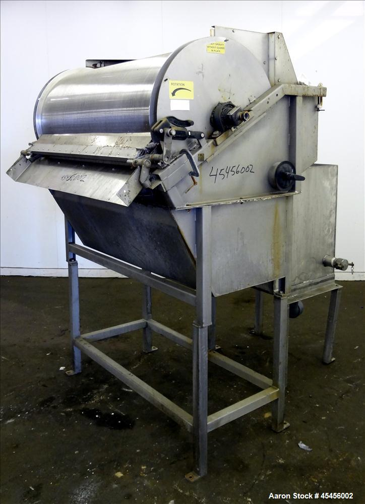 Used- Stainless Steel Hycor Rotostrainer, Model RSA2548-1
