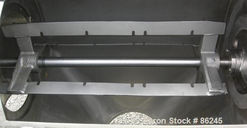 "USED- Kason Centri-Sifter, 316 Stainless Steel. Approximate 12"" diameter x 24"" long screen section, (4) helical blades. Appr..."