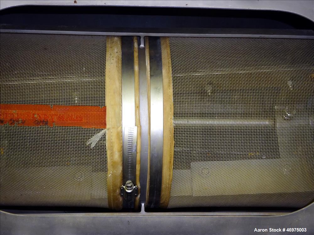 Used- Kemutec (KEK) Model K-650 Centrifugal Screener or Sifter.