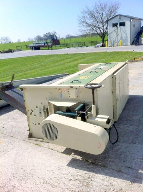 "Used-Law-Marot Rotary Drum Screen, Scalper Model S3-25.  Bolted housing assembly with 3 screen sections, 120"" long x 34"" wid..."