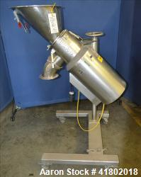 Used- Stainless Steel Glatt Quick Sieve, Model TR160-02, 316 Stainless Steel